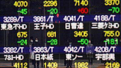 أسهم اليابان تغلق على زيادة طفيفة ومخاوف توقعات الشركات تحد من المكاسب