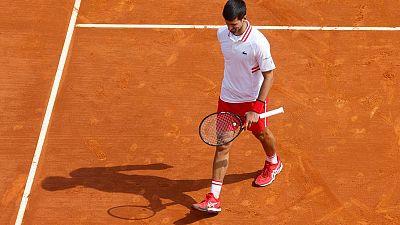 Djokovic se retira del Open de Madrid