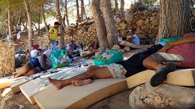 Hotspot Lampedusa 'in sofferenza'