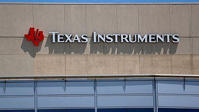Texas Instruments quarterly revenue beats estimates