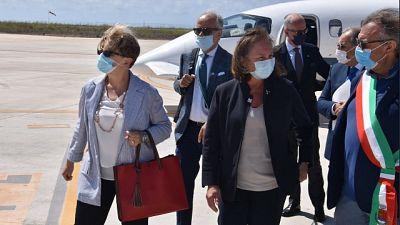 Ministra vede presidente Said, 'seri problemi per Italia'