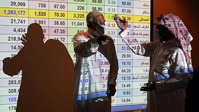 البنوك تدعم المؤشر السعودي؛ وهبوط بقية أسواق الخليج الرئيسية