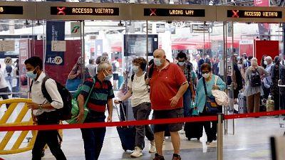 Solo un treno per Napoli sabato e 2 per Roma sabato e domenica
