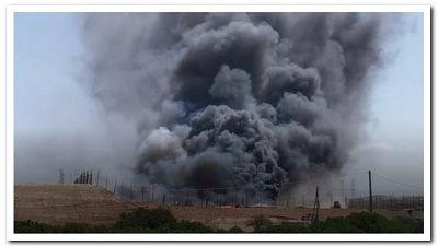 Pompieri in azione per scongiurare inquinamento ambientale