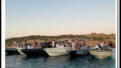 Sopresi da Guardia costiera nelle acque di La Maddalena