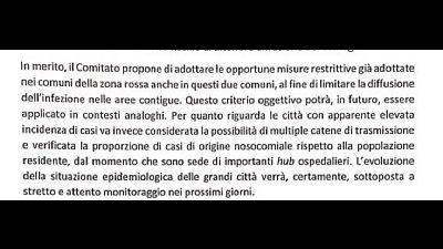 'Per limitare diffusione'.Verbale pubblicato dall'Eco di Bergamo