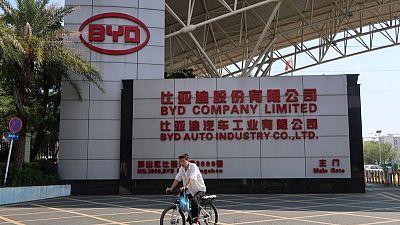 Buffett-backed EV maker BYD's profit grew 111% in first-quarter