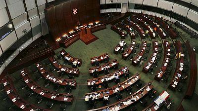 Hong Kong legislature to discuss new immigration bill amid 'exit ban' fears