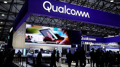 Qualcomm sees revenue, profits above estimates; says supply chain is improving