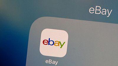 EBay first-quarter revenue beats estimates