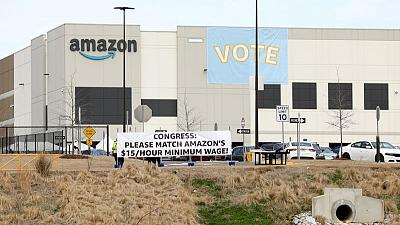U.S. Labor Board says evidence presented by union in Amazon vote 'could be grounds for overturning election'
