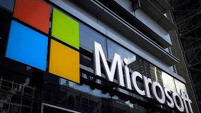 Microsoft sales grow on cloud strength, shares dip on heightened valuation