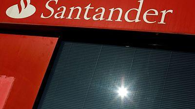 Santander says Q1 net profit jumps five-fold boosted by U.S. unit