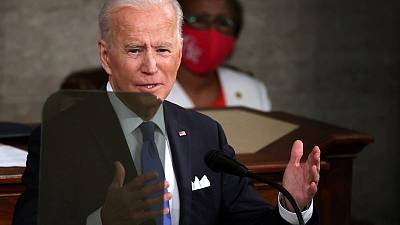 Biden talks tough on China in first speech to Congress