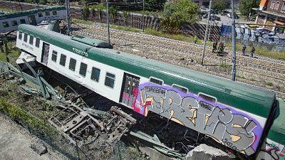 Parzialmente conclusa la rimozione treno a Carnate