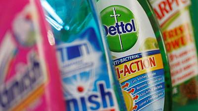 Reckitt first-quarter sales beat estimates as cleaning boom continues