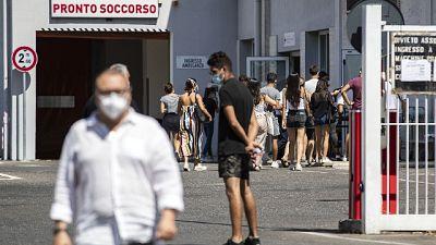 In Veneto maggiore aumento.6 nuovi decessi.Cala crescita guariti