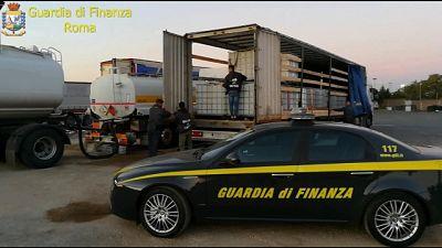 Operazione Gdf Roma su calabresi dediti a vari reati da anni '80