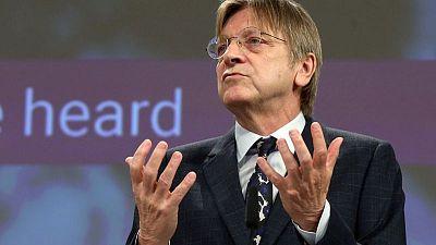 EU parliament backs post-Brexit EU-UK trade deal - Verhofstadt