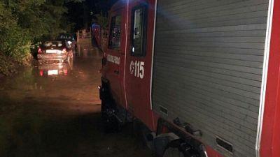 Una cinquantina gli interventi dei pompieri,alcuni rii esondati