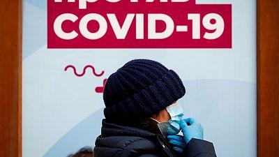 روسيا تسجل 9284 إصابة و364 وفاة جديدة بكوفيد-19