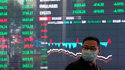 MERCADOS GLOBALES: Las bolsas asiáticas extienden ganancias gracias al apoyo de la Fed y a los estímulos de Biden