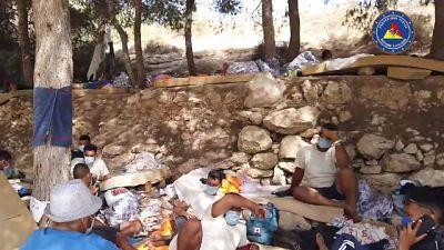 Governatore posta video visita task force in hotspost Lampedusa