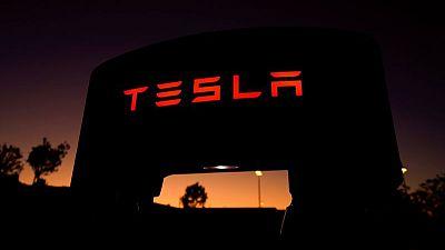 Tesla slips below 10% of Cathie Wood's flagship fund