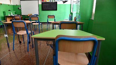 Scuola media in provincia di Oristano sanificata e ora riaperta