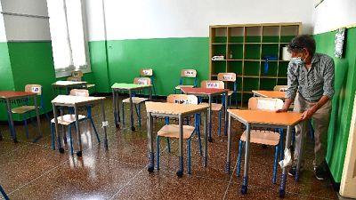 A Casalpusterlengo, in isolamento 26 alunni e un'insegnante