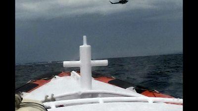Tredici persone sono state salvate al largo di Carloforte