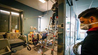 Cala il numero dei pazienti in terapie intensiva