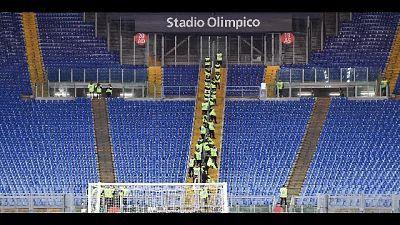 Zingaretti firma l'ordinanza in vista degli incontri di Serie A