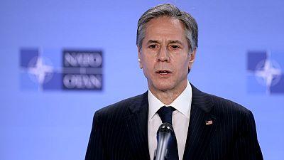 U.S. top diplomat Blinken will visit Ukraine next week -CBS News