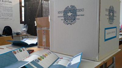 Chiuso conteggio schede dopo trasferimento a Ufficio elettorale