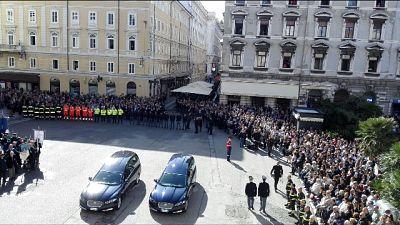 Gabrielli a Trieste per ricordare Demenego e Rotta