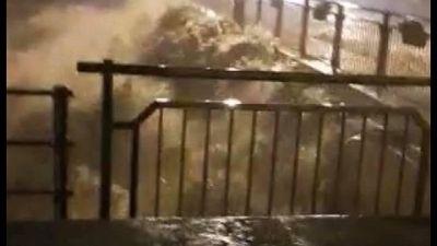 Esonda il Tanaro. Vigili fuoco temono persone bloccate nel Tenda