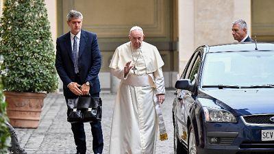 Tappa dalle suore Clarisse prima di recarsi ad Assisi