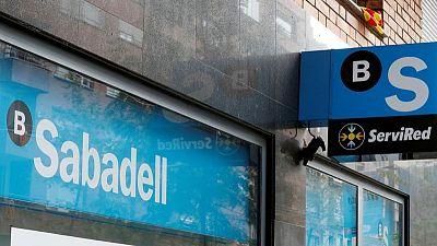 Sabadell's Q1 net profit falls 22% on lower lending income, TSB books a profit