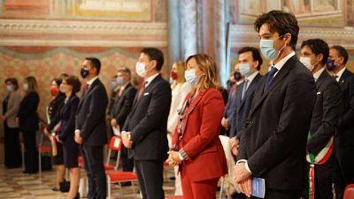 Presidente Marche, grande responsabilità accensione lampada
