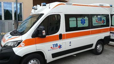 Tra Altamura e Gravina, ferito il conducente del secondo mezzo