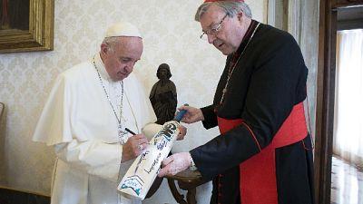 Il porporato a Roma dopo l'assoluzione del processo per abusi