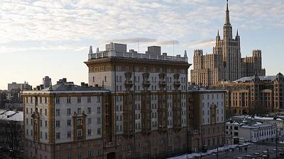 U.S. embassy in Moscow to reduce consular services
