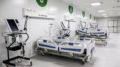 Se si occupano tutti i 150 letti previsti per terapia intensiva