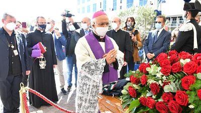 Salma benedetta dall'arcivescovo di Catanzaro