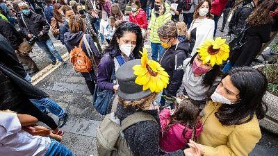 Secondo giorno di manifestazione contro ordinanza De Luca