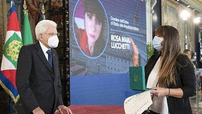 Consegnate a Roma onorificenze Capo di Stato agli 'eroi-Covid'