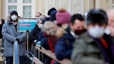 تقديرات لرويترز: روسيا سجلت 400 ألف وفاة أكثر من المعدل الطبيعي خلال الوباء