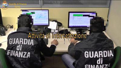 Operazione guardia Finanza