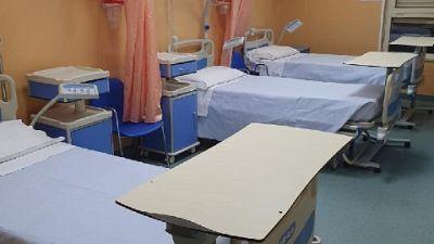 Eseguiti 3721 tamponi, invariati ricoveri in terapia intensia